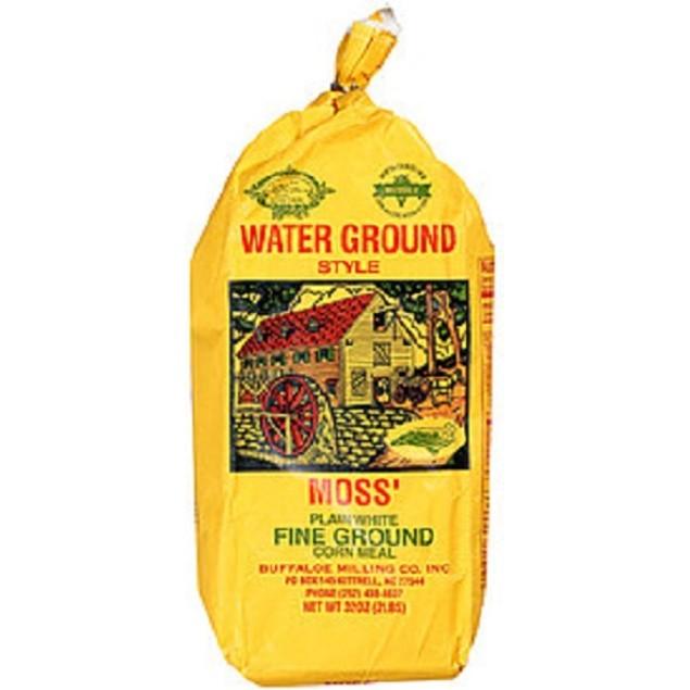 North Carolina Moss Plain Yellow Corn Meal 2 lb Bag
