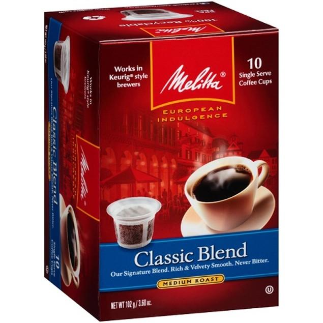 Melitta Classic Blend Coffee Keurig K Cups