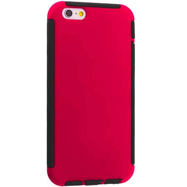 Apple iPhone 6 Plus (5.5) Hybrid Hard TPU Case Cover with Screen Protector