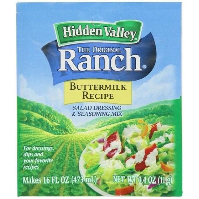 Hidden Valley Ranch Buttermilk Recipe Salad Dressing Mix 0.40 oz Packet