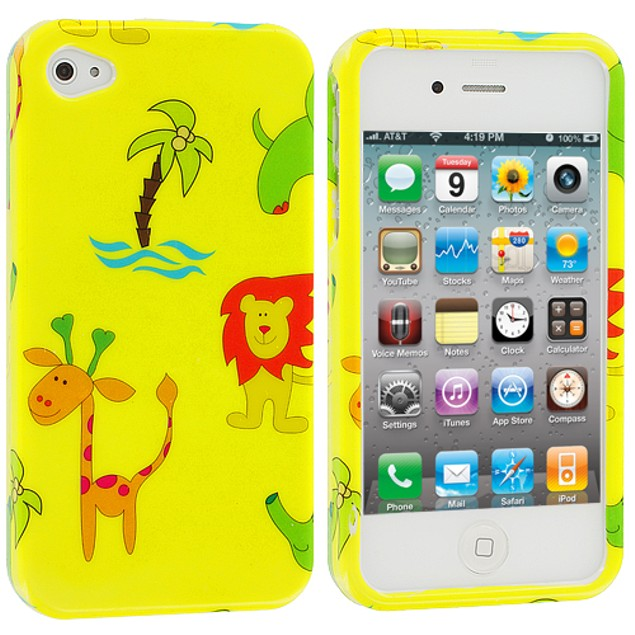 Apple iPhone 4 Hard Design Case Cover