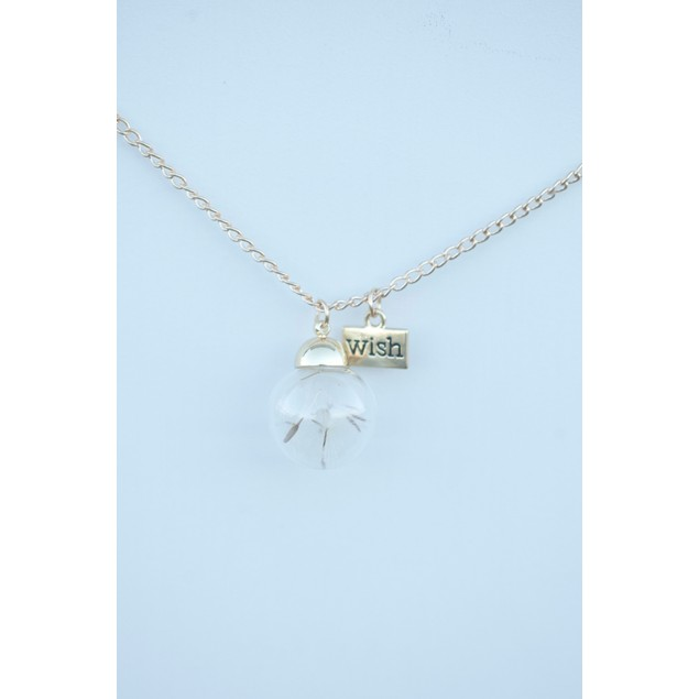 Dandelion Wish Necklace - 2 Colors
