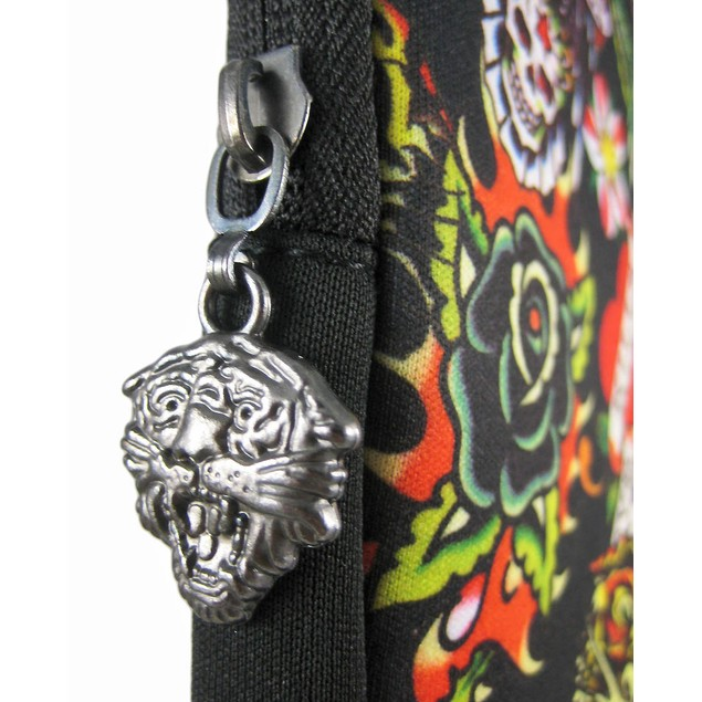 Black Bill Ed Hardy Laptop Sleeve All Over Collage Laptop Computer Sleeves
