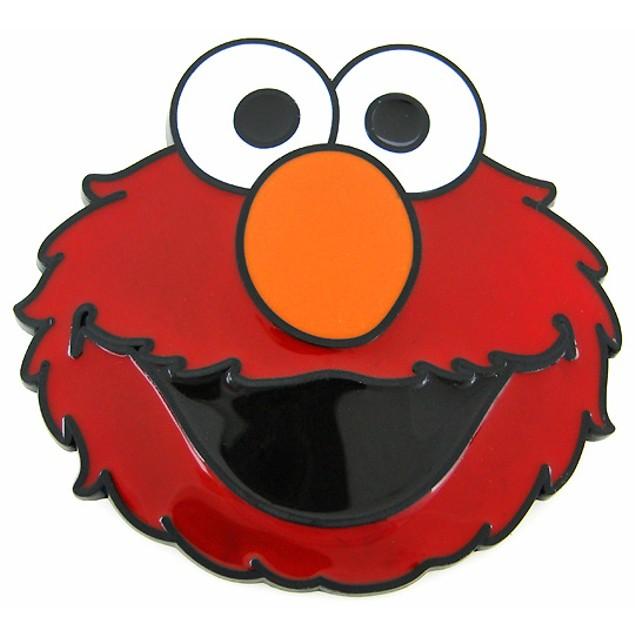 Sesame Street Elmo Red Enamel Belt Buckle Muppet Mens Belt Buckles