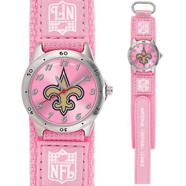 New Orleans Saints Girls NFL Watch