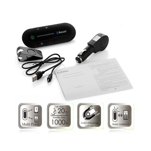 Bluetooth Hands Free Car Speaker