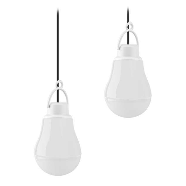 2-Pack Energy Saving LED USB Light Bulb