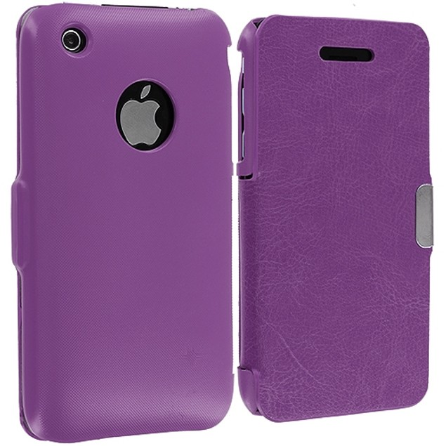 Apple iPhone 3G / 3G S Slim Wallet Magnetic Flip Case Cover