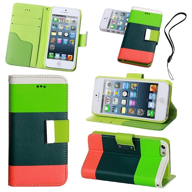 Colorblock Flexible Wallet Case for iPhone® 6