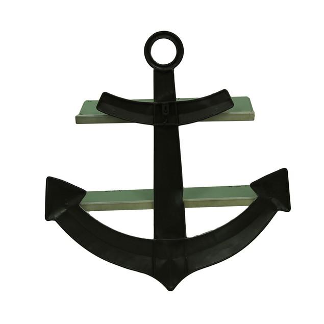 Distressed Ship Anchor Decorative Metal Wall Shelf Wall Sculptures