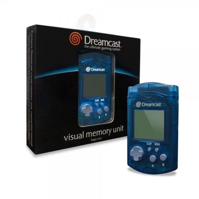 Dreamcast Visual Memory Unit (Blue) - Sega