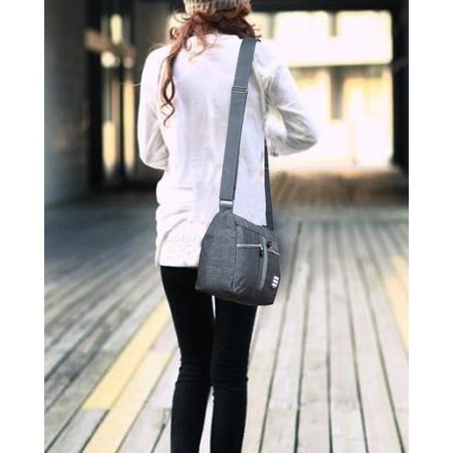 Suvelle Nylon Water-Resistant Crossbody Bag