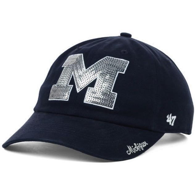 "Michigan Wolverines NCAA 47' Brand ""Natalie"" Adjustable Hat"