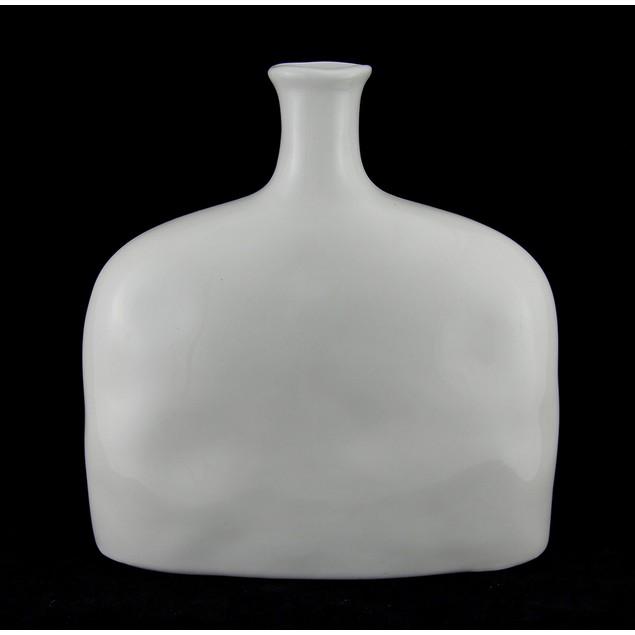 Nautical Propeller Design Decorative White Ceramic Decorative Vases