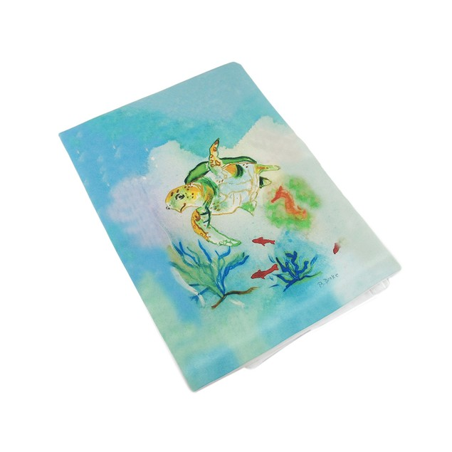 Betsy Drake Betsy's Sea Turtle Kitchen Towel 19 Kitchen Towels
