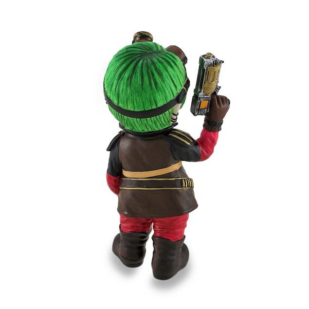 Cosplay Kids Mini Steampunk Girl W/Revolver Statue Statues