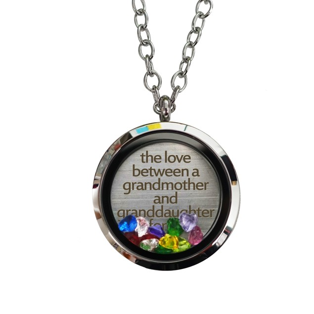 Grandmother & Granddaughter Magnetic Locket