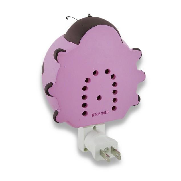 Children`S Pink Ladybug Night Light Nite Lite Childrens Night Lights