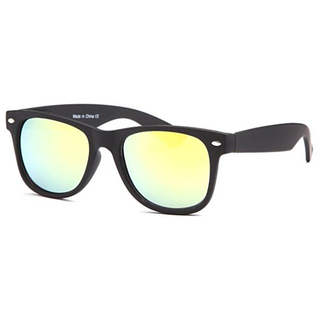 West Coast Sport Sunglasses - Black and Yellow