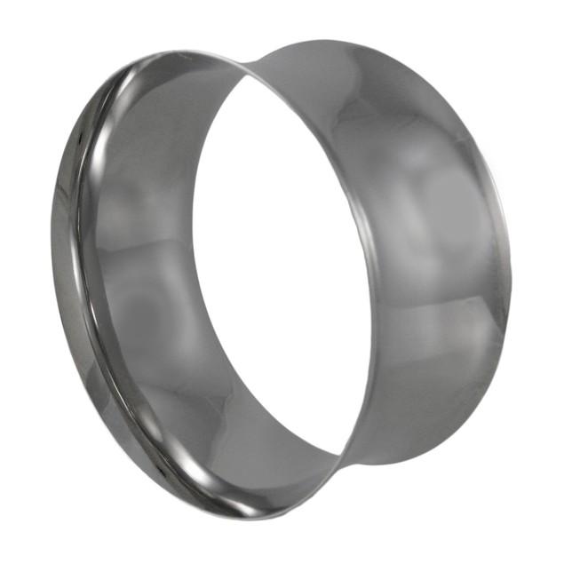 Chrome Plated Concave Ring Bangle Bracelet Womens Bangle Bracelets