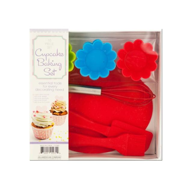 Silicone Cupcake Baking Set