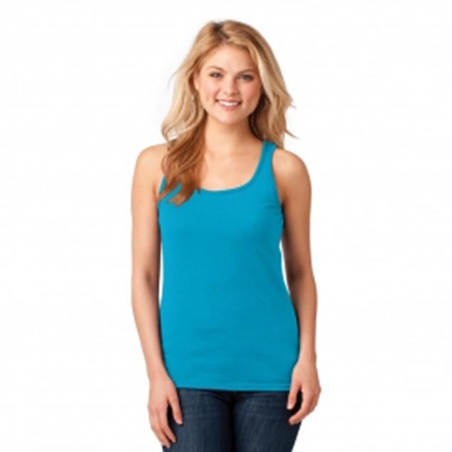6-Pack: Gildan Women's Ribbed 100% Cotton Tank Top