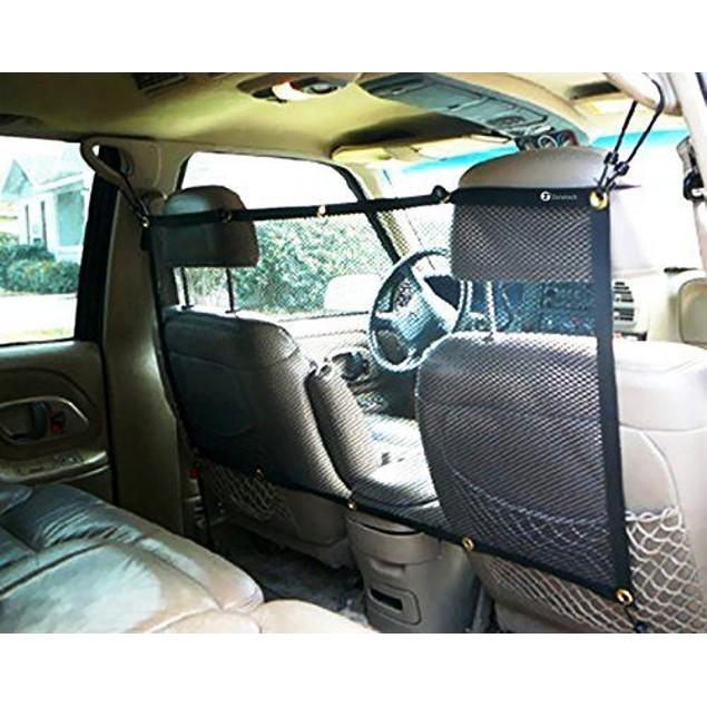 "Zone Tech Vehicle Travel Pet Dog Car Back Seat Net Mesh Barrier 47 x 24"""