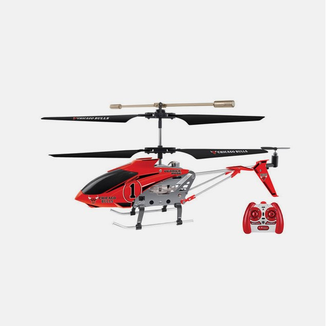 NBA Chicago Bulls Derrick Rose RC Helicopter