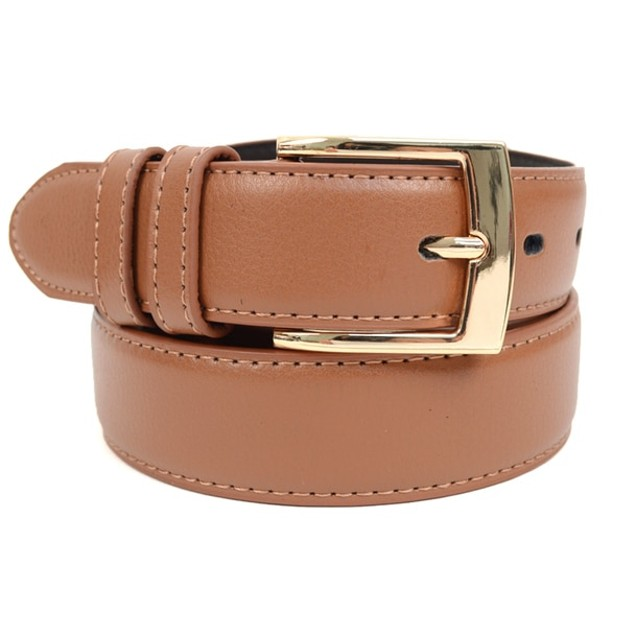 2-Pack Genuine Leather Men's Dress Belt