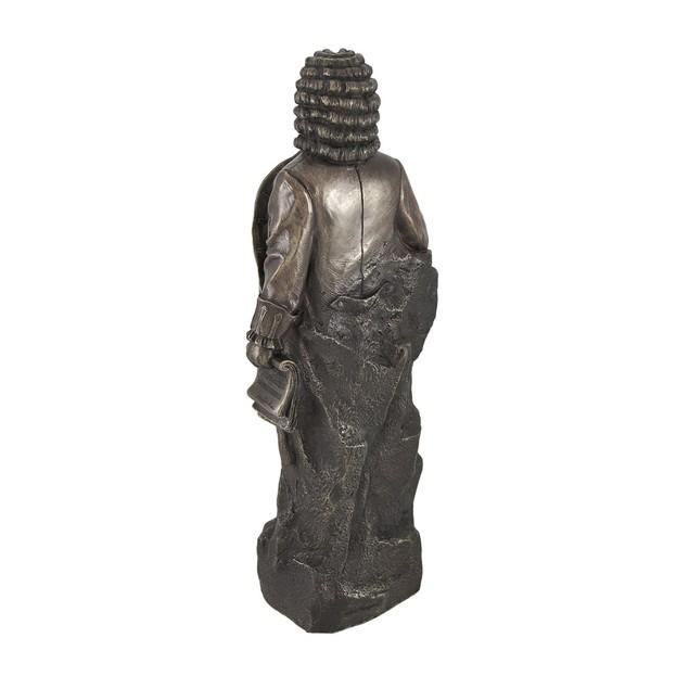 Bronzed Johann Sebastian Bach Statue Statues
