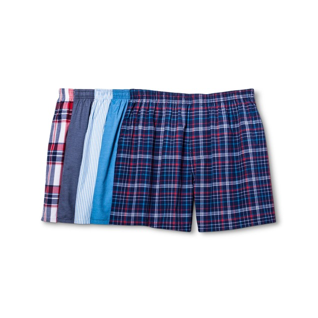 4-Pack Gildan Men's Platinum Boxer Shorts