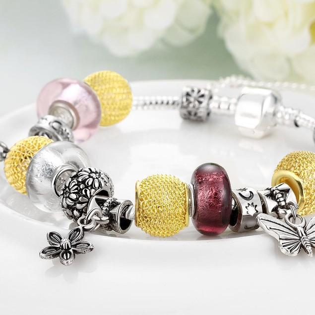 The Key to My Heart Designer Inspired Bracelet
