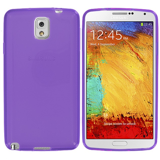 Samsung Galaxy Note 3 N9000 TPU Rubber Case Cover
