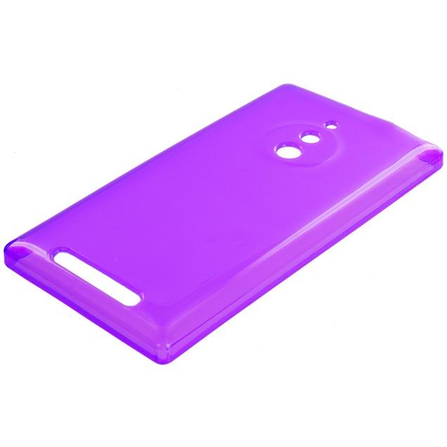 Nokia Lumia 830 TPU Rubber Case Cover