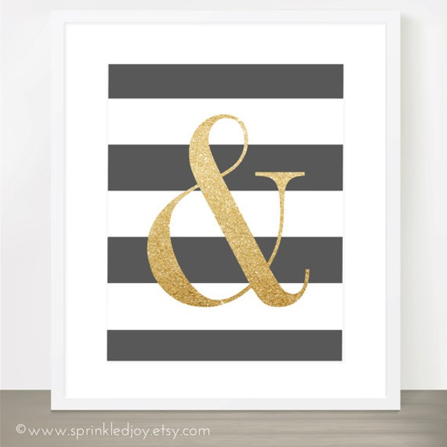 Ampersand Always & Forever Print
