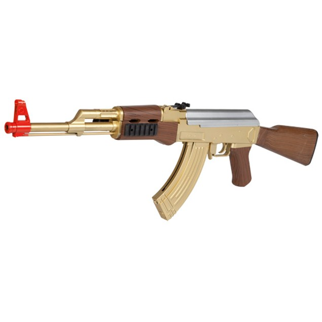 AK-47 721B Gold FPS-190 Spring Airsoft Rifle
