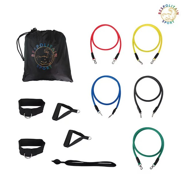12-Piece Set Resistance Exercise Bands