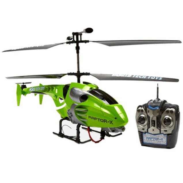 Raptor-X 3.5CH RTR RC Helicopter