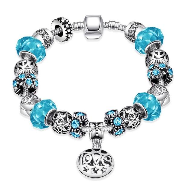 Colors of Swedish Sea Designer Inspired Bracelet