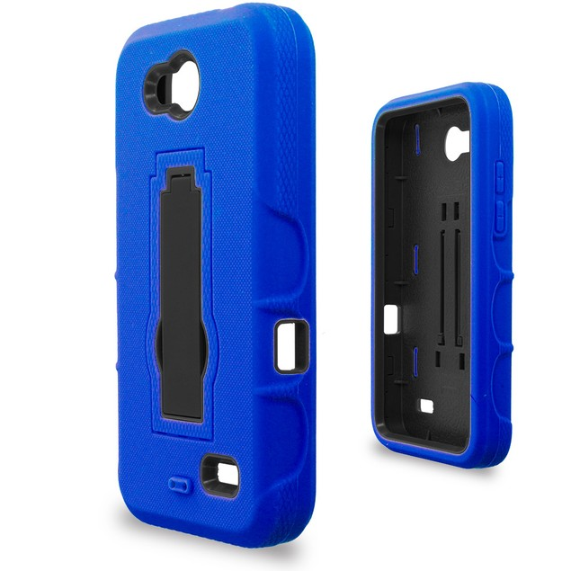 ZTE Speed N9130 Hybrid Heavy Duty Armor Case Cover with Stand