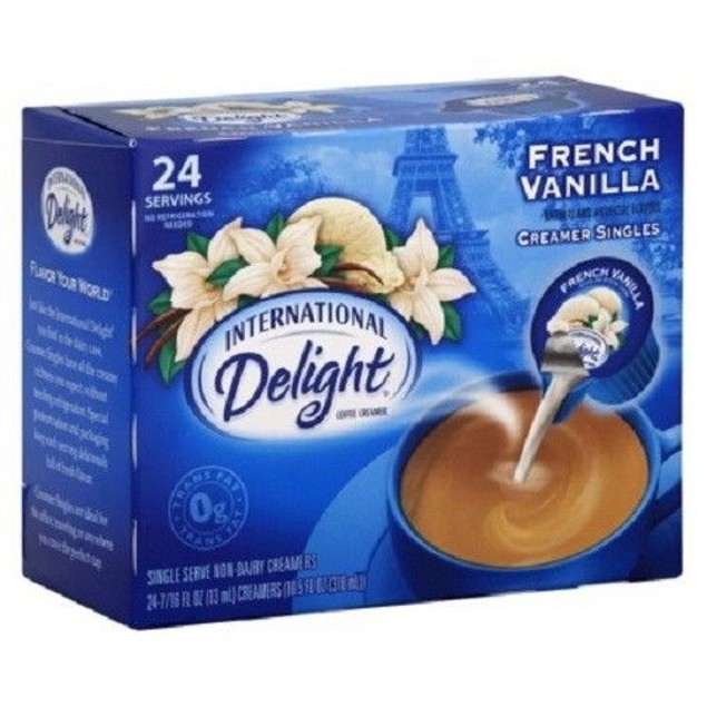 International Delight French Vanilla Coffee Creamer Singles