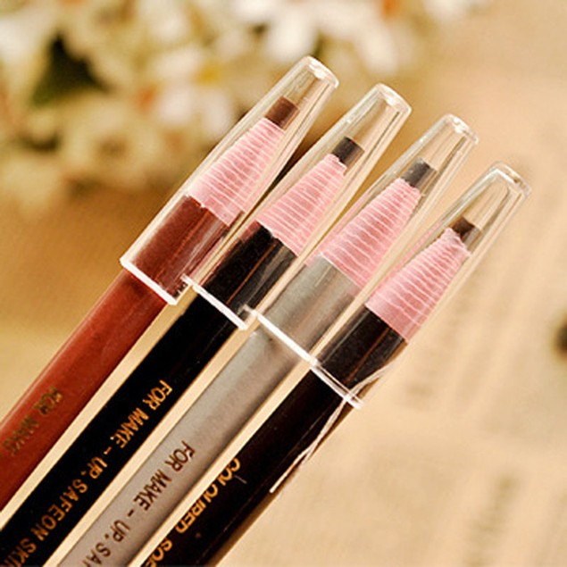 4-Pack Eyebrow Pencil Waterproof Long Lasting Eyebrow Liner