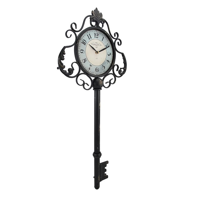 Decorative Antique Key Shaped Wall Clock Wall Clocks