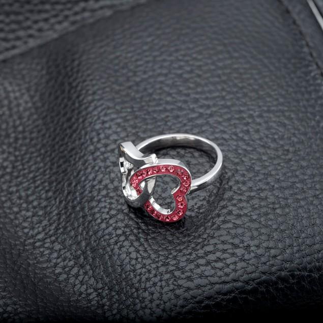 Crystal Heart Rings - 5 Styles