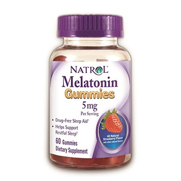 Natrol Melatonin 5mg Strawberry Gummies