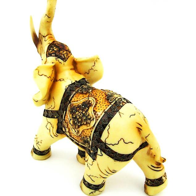 Beautiful Indian Elephant Statue Figure Good Luck Statues
