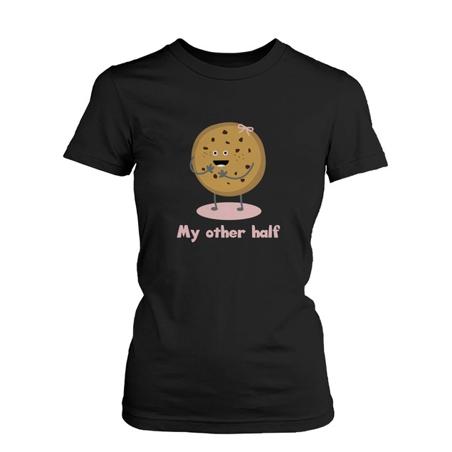 Cute Matching Couple Shirts - Milk and Chocolate Chip -Gifts for Couples
