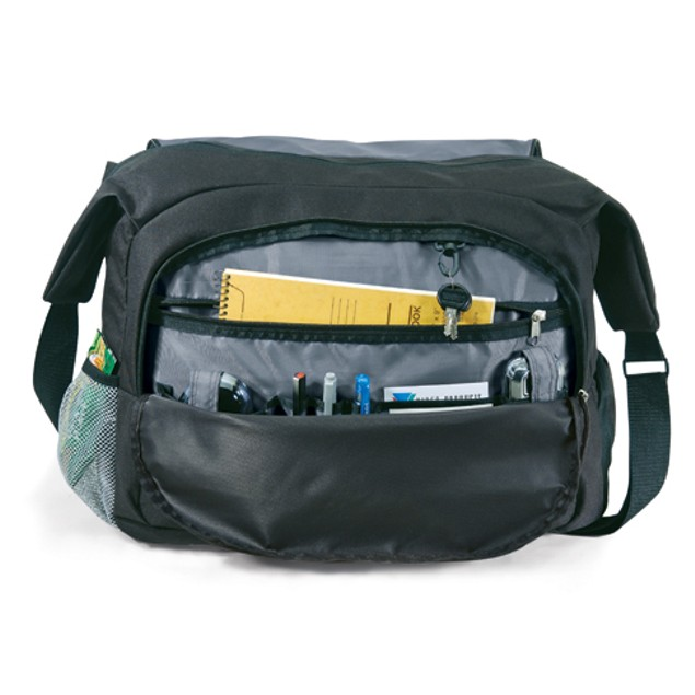 "GP Carrier Messenger Bag Fits Up to 17"" Laptop"