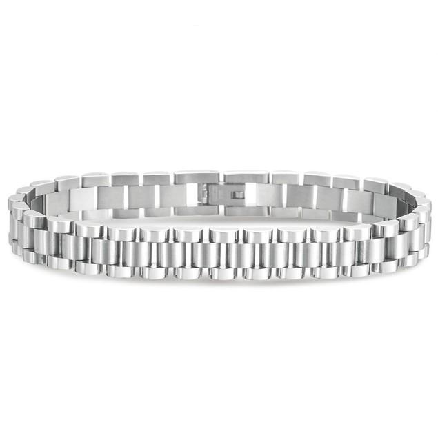Men's Style Stainless Steel Designer Bracelet