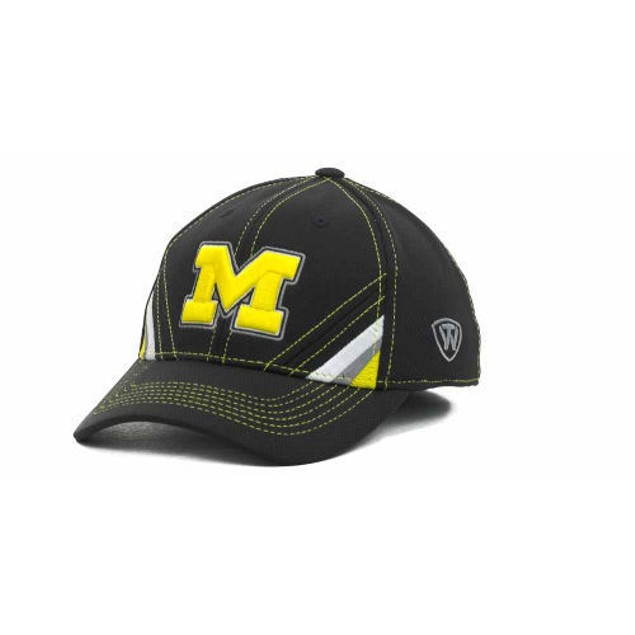 "Michigan Wolverines NCAA TOW ""Pace"" Stretch Fitted Hat"